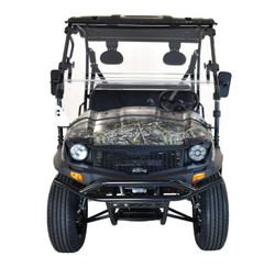 Black - Massimo Buck 200X UTV, 177cc Four-Stroke, Single Cylinder EFI - Fully Assembled and Tested
