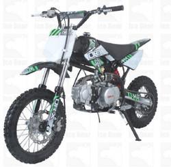 Ice Bear Scrub (PAD110-1) 110cc Dirt Bike, 4-Speeds, Kick Start, Semi Automatic