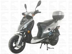 ICE BEAR SHADOW (PMZ50-1) 50CC, 139QMB, AUTOMATIC, ELECTRIC AND KICK START