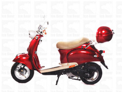 ICE BEAR BULLET (PMZ50-5) 50CC, 139QMB, AUTOMATIC, ELECTRIC AND KICK START