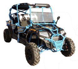 VITACCI PREDATOR 400 XL-4 SEATS UTV, ELECTRIC START, 4-STROKE,SINGLE-CYLINDER, WATER-COOLED