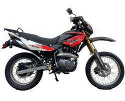 New Roketa DB-08 250 Dirt Bike, 4-Stroke, Single Cylinder, Air Cooling