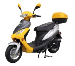 Roketa MC-08 Maui 50GL Moped Scooter, 4-Stroke, Air Cooled, Eletric /kick Start