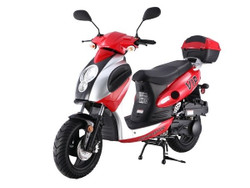 Taotao 150cc Pilot Moped Gas Scooter Electric Start, Kick Start Back Up CA Legal