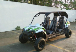 TrailMaster Challenger4 200 4-stroke, Single Cylinder, Air Cooled Four Seater UTV