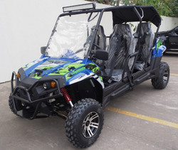 TrailMaster Challenger4 300X EFI UTV, 4-Stroke, Single Cylinder, Water- Cooled