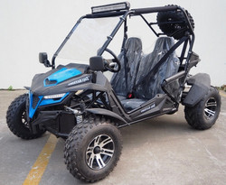 New TrailMaster Cheetah 200X Deluxe Go Kart, 4-Stroke, Single Cylinder, Air Cooled, Automatic With Reverse