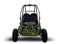 TrailMaster Mini XRX+ A Upgraded Go Kart with Bigger Tires, Frame, Wider Seat