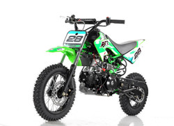 Vitacci DB-28 110cc Dirt Bike, Fully Automatic and Electric Start
