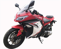 VITACCI New Falcon 250cc Automatic Sport Bike, Single Cylinder Water-Cooling - Fully Assembled and Tested