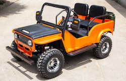 New Vitacci Jeep GR-2 125cc, 154Fmi, Xinyuan 3-Speed With Reverse