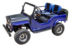 New Vitacci Jeep GR-2 125cc, 154Fmi, Xinyuan 3-Speed With Reverse