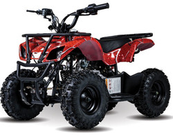 New Vitacci Mini Hunter 60cc ATV, Single Cylinder, 4-Stroke, Air Cooled, Automatic, Electric Start - Fully Assembled and Tested