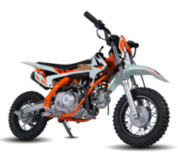 Jasscol XB-27 90cc Dirt Bike, Single Cylinder, 4 Stroke, Air-Cooling