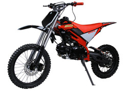 Jasscol XB-33 125cc Dirt Bike, Single Cylinder, 4 Stroke, Air-Cooling
