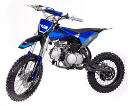 VITACCI DB-V12 124cc Dirt Bike, 5 Speed Manual, 4-Stroke, Air Cooled