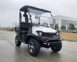 White - Trailmaster Taurus 200U (Side By Side) 4-Stroke, Single Cylinder, Air And Oil Cooled