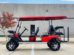 DYNAMIC ENFORCER FULLY LOADED LIMO LSV GOLF CART RED