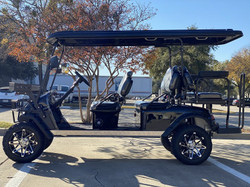 DYNAMIC ENFORCER FULLY LOADED LIMO LSV GOLF CART BLACK