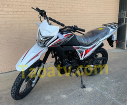 New Model Taotao TBR7 D On Road Highway 229cc Motorcycle, Electric Start, Kick Start - Fully Assembled and Tested