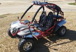 RPS TK200-8 Go Kart, Single Cylinder, Horizontal Type, 4-Stroke, Air-Cooled