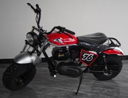 TrailMaster Hurricane 200X Mini Bike, Hydraulic Front and Rear Disc Brake