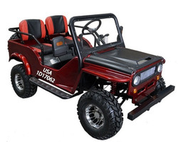 Vitacci Jeep 125cc, 154FMI, XinYuan Go-Kart With Disc Brakes - Fully Assembled And Tested