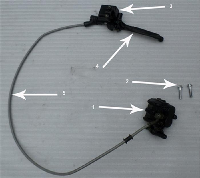 Hawk 250 Bolts (Brake Pump)