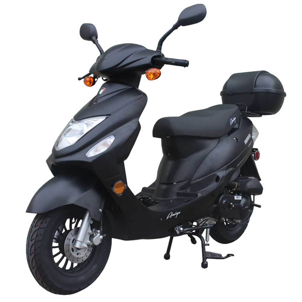 Amigo 2018 Beemer-50 FA 49cc Moped Scooter 4 Stroke Single Cylinder Ca Approved