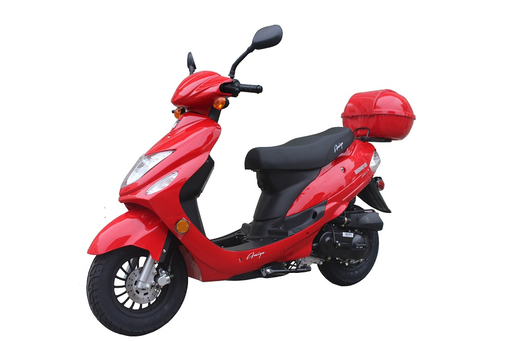 Amigo Beemer-50 SA 49cc Moped Scooter 4 Stroke Single Cylinder Ca Approved