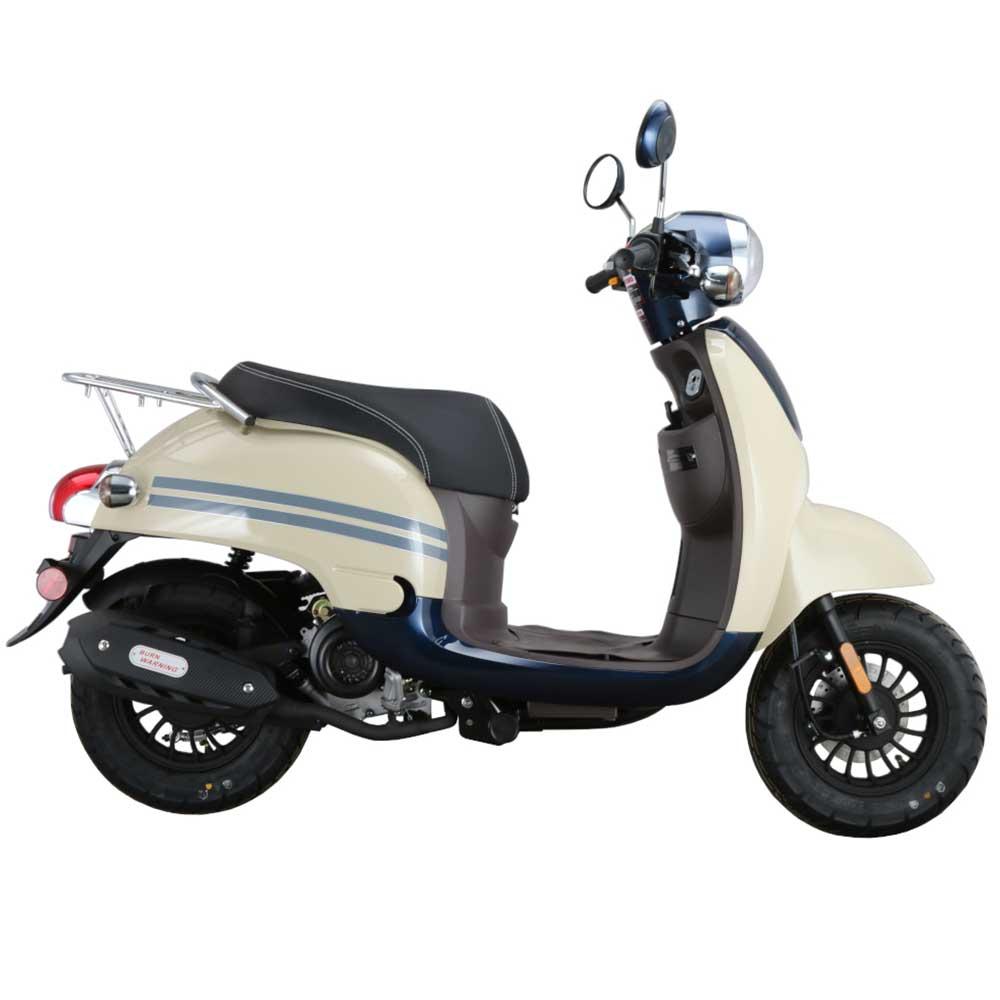 Amigo Citi-50 4 Stroke Gas Moped Scooter, Remote Start, USB Port, Alarm