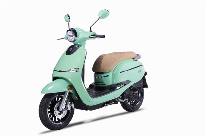 Amigo 2017 F10-150 149cc Street Legal Scooter, 4 stroke with 8.5 HP, 7000 RPM Air Cooled
