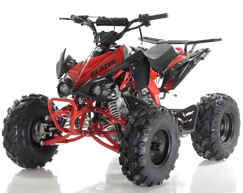 """Apollo BLAZER 7 125cc ATV, 7"""" TIRE, Single Cylinder, Air Cooled, 4 Stroke - Fully Assembled and Tested"""