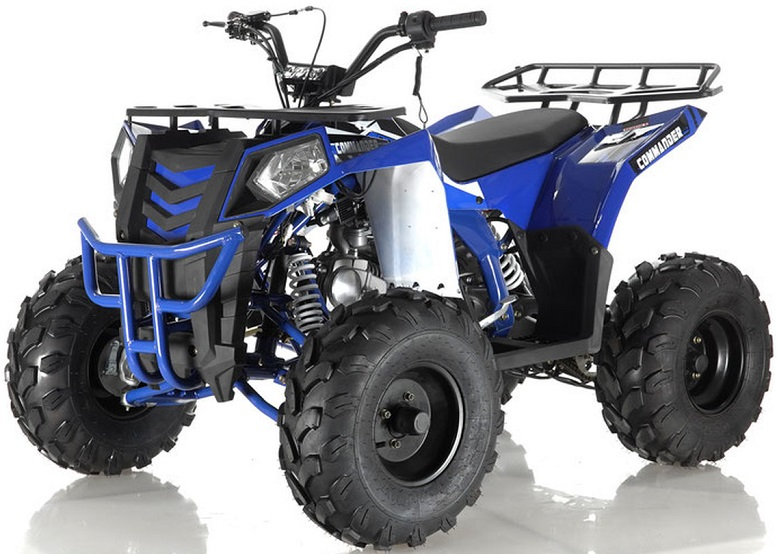 APOLLO COMMANDER 125CC ATV, AUTO WITH REVERSE 4-STROKE, SINGLE CYLINDER, OHC - FULLY ASSEMBLED AND TESTED