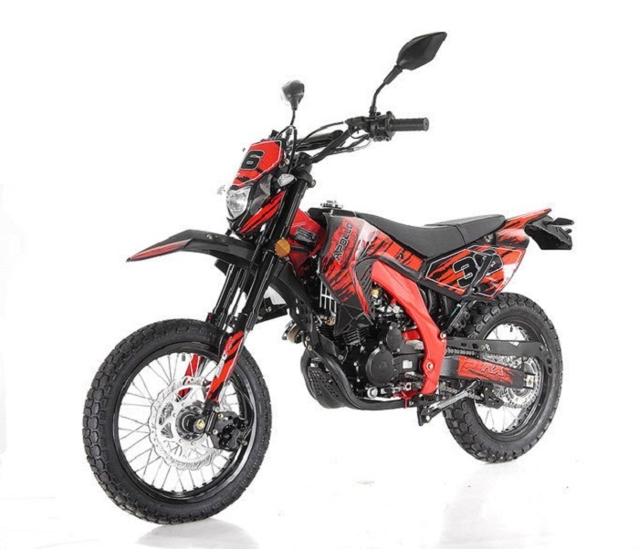 New Apollo Db 36 Deluxe Dot (True Street Legal) 250cc Street Legal Dirt Bike - Fully Assembled and Tested