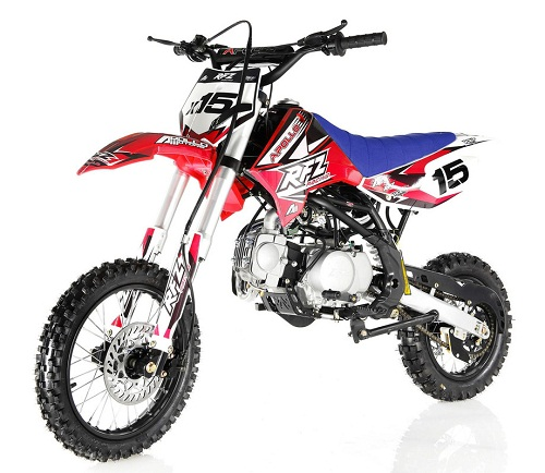 APOLLO DB-X15 125cc Manual Clutch Dirt Bike, 4 Stroke, Single Cylinder - Fully Assembled and Tested