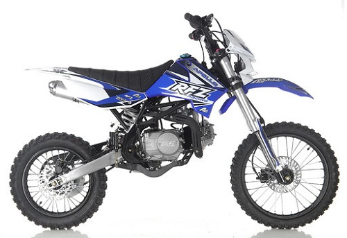 New Apollo DB-X19 125cc Dirt Bike With Headlight 4 stroke Single Cylinder - Fully Assembled and Tested