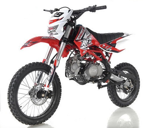 New Apollo DB-X19 125cc Dirt Bike With Headlight 4 stroke Single Cylinder
