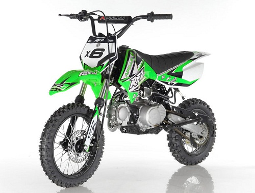 Apollo DB-X6 125cc Fully Automatic ( Kick Start ) 4 Stroke Air Cooled - Fully Assembled and Tested