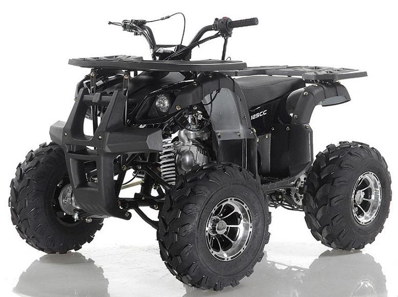 Apollo Focus-10 DLX 125cc ATV, Single Cylinder, Air Cooled, 4 Stroke 1Speed+Reverse