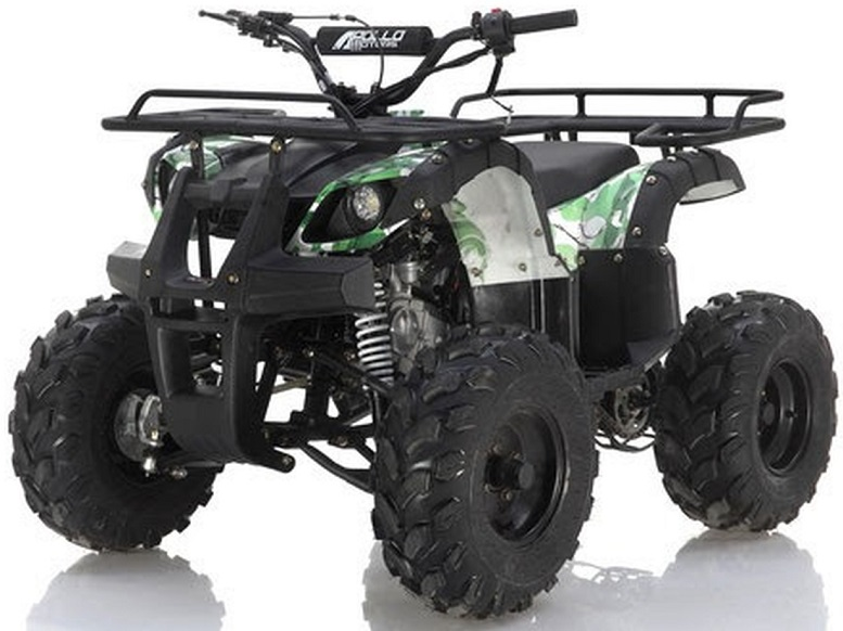 Apollo Focus 125cc ATV, single cylinder, air cooled, 4 stroke 1speed+reverse - Fully Assembled and Tested