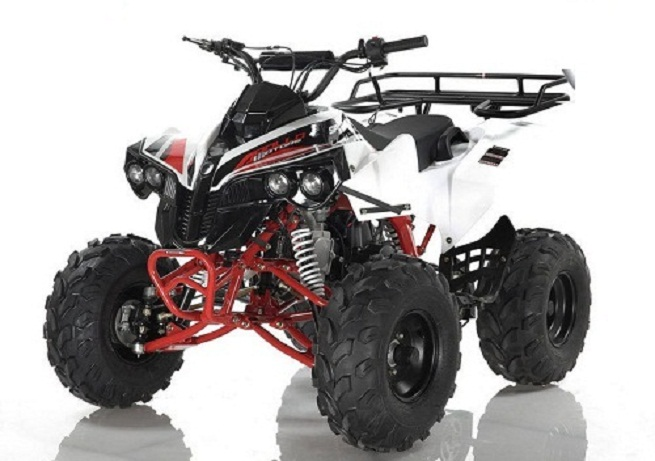 Apollo SPORTRAX 125cc ATV, Single Cylinder, Air Cooled, 4 Stroke - Fully Assembled and Tested