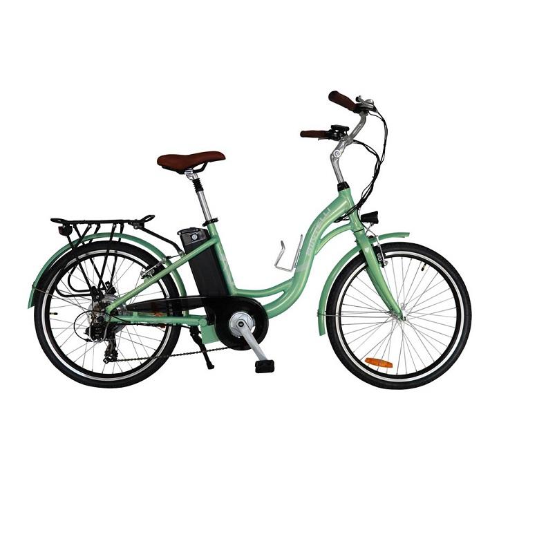 Bintelli Journey Electric Bicycle, New Step through E-Bike