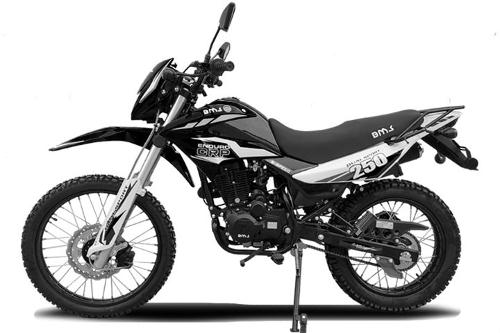 NEW BMS ENDURO 250 CRP Dual Sport Dirt Bike, 5 Speed Manual, Air Cooled Engine