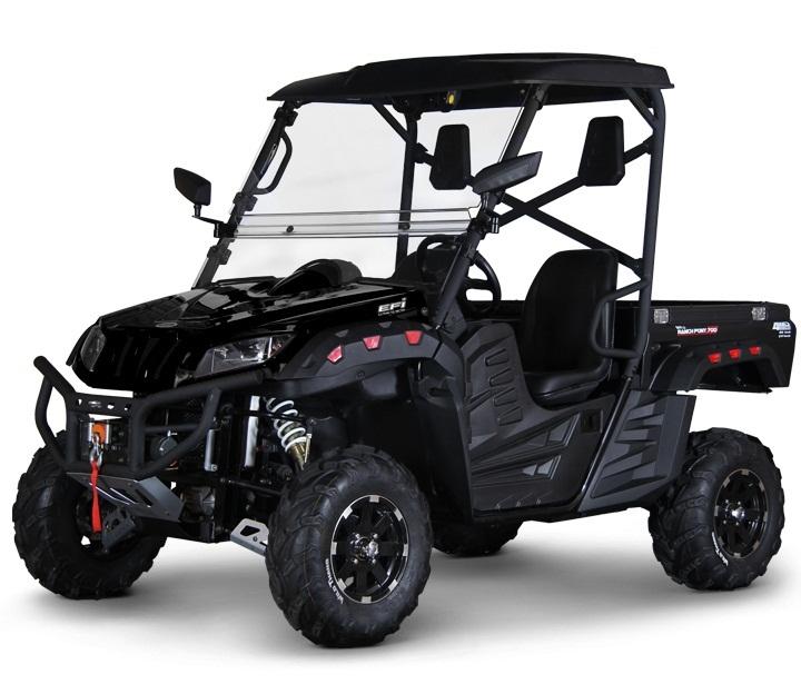 BMS Ranch Pony 700cc EFI 2-SEATER UTV, Vehicle with Automatic,Transmission w/Reverse
