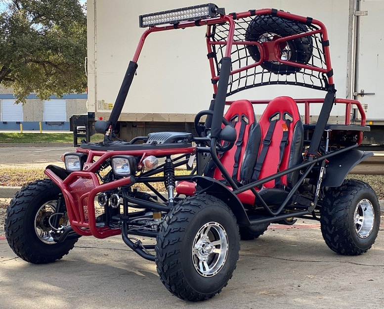 Cazador New Hummer 200 Go Kart, Single Cylinder, 4-Stroke, Air-cooled, Horizontal Type