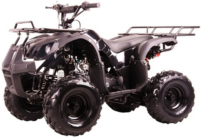 """Coolster ATV-3050D Kodiak-Hd 110CC Youth Atv - Big 16"""" Tires, 110CC Air Cooled, Single Cylinder, 4-Stroke - Fully Assembled and Tested"""