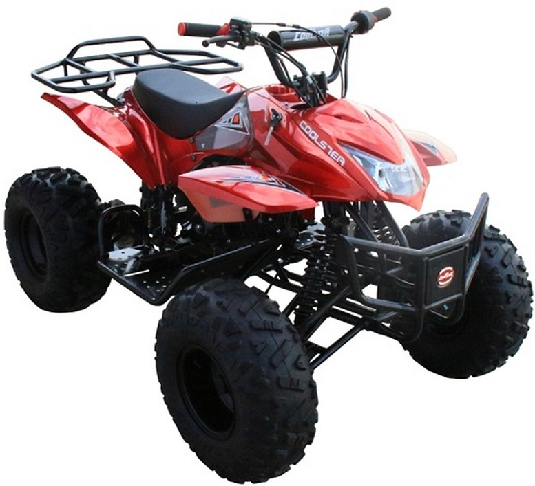 Coolster 3125A2 Mountain-HD125 Mid Size ATV, Air Cooled, Single Cylinder 4-Stroke Auto w/ Reverse