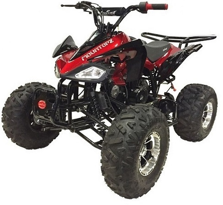 Coolster 3125CX-3 125CC Fully Automatic Mid Size ATV With Aluminum Wheels