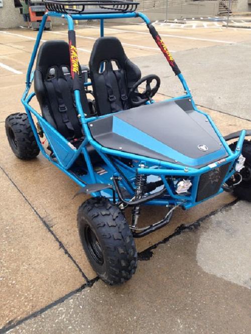 Vitacci BATMAN 200cc GKM Go Kart, 4 Stroke / Single cylinder/ Fully Auto With Reverse